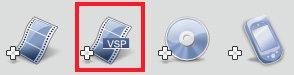 Добавить файлы проектов VideoStudio