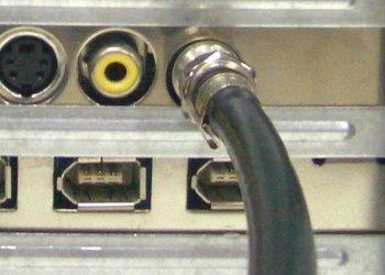Подключение телевизионной антенны к тюнеру