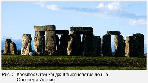 Кромлех.Стоунхендж. II тысячелетие до н. э. Солсбери. Англия