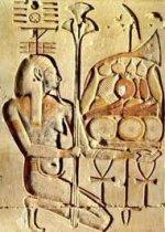 хапи - бог Нила и покровитель урожая