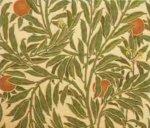 Уолтер Крейн, ткань Апельсиновое дерево, для фирмы «Jeffry & Co.». 1902 (повторное производство фирмы «Arthur Sanderson & Sons»)