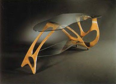 Карло Моллино, стол Арабеска, для фирмы «Apelli & Varesio». 1950