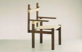 стул Lottenstuht, изготовленный в мебельной мастерской в Веймаре