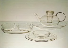 чайный набор для фирмы «Jenaer Glaswerke Schott & Gen*