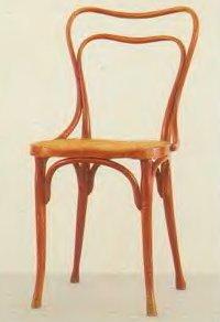 стул для кафе «Музей», изготовлен для фирмы «Якоб и Йоэеф Кон»