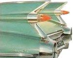Хвостовой плавник на модели Кадиллака