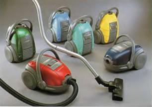 Пылесосы Oxygen различмых цветов фирмы «Electrolux»