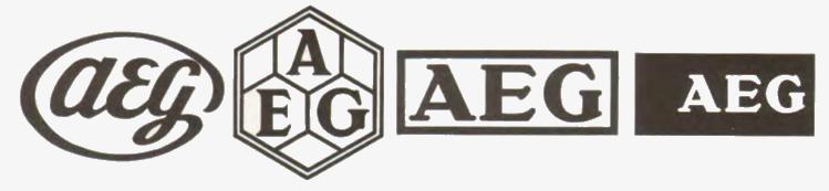 логотипы для компании «AEG»