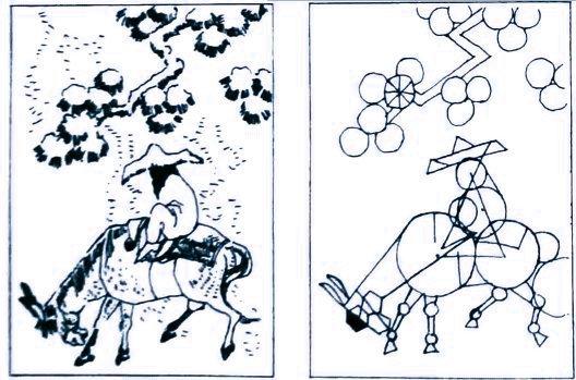 Традиционный метод построения изображений в классических восточных школах